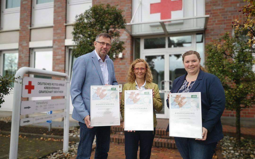 Erfolgsprojekt BGM: Einsatz des DRK für Mitarbeiter-Gesundheit zertifiziert