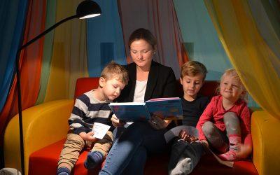 Vorlesen hilft – in der Kita und bei der Hörzeitung