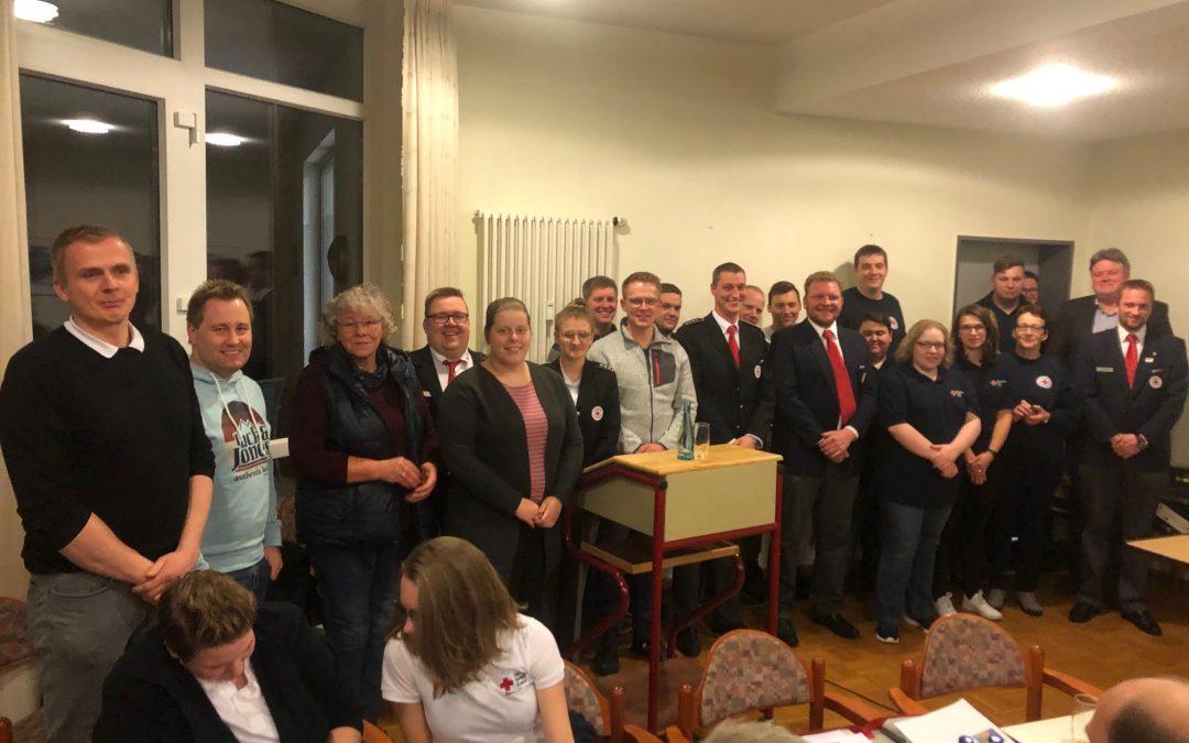 Mitgliederversammlung: Grafschafter DRK ehrt freiwillige Einsatzkräfte / Neuer Rettungswagen in Hoogstede stationiert – Großer Dank an Moorbrand-Helfer