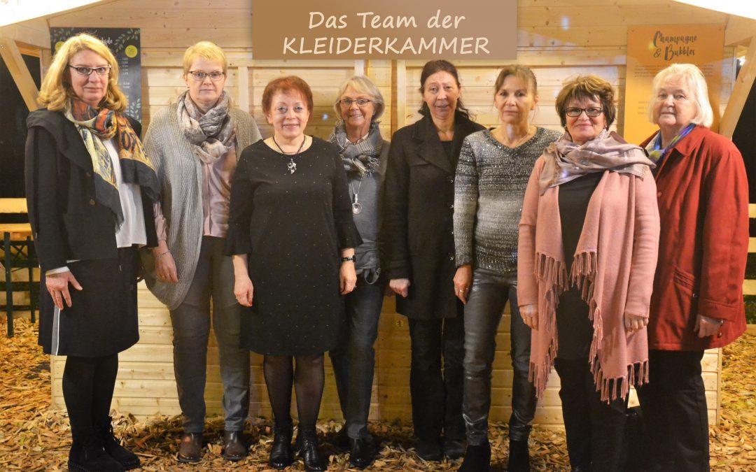 DRK-Kleiderkammer: Ehrenamtlicher Einsatz im Verborgenen