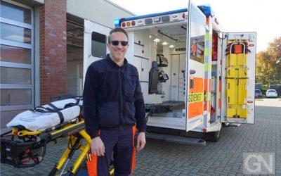 GN-Adventskalender: Im Rettungswagen geht's um Leben und Tod
