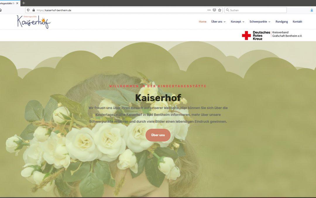Internet-Auftritt Kita Kaiserhof online