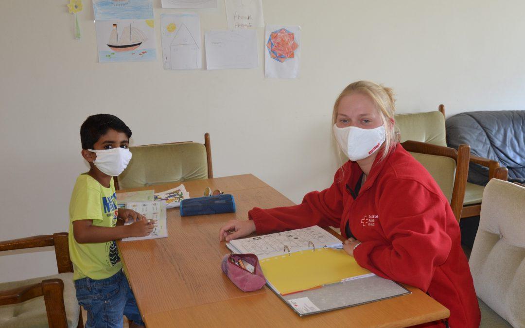 Homeschooling für Kinder aus Flüchtlingsfamilien