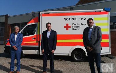 Frank Schüring verstärkt Vorstand des DRK-Kreisverbands