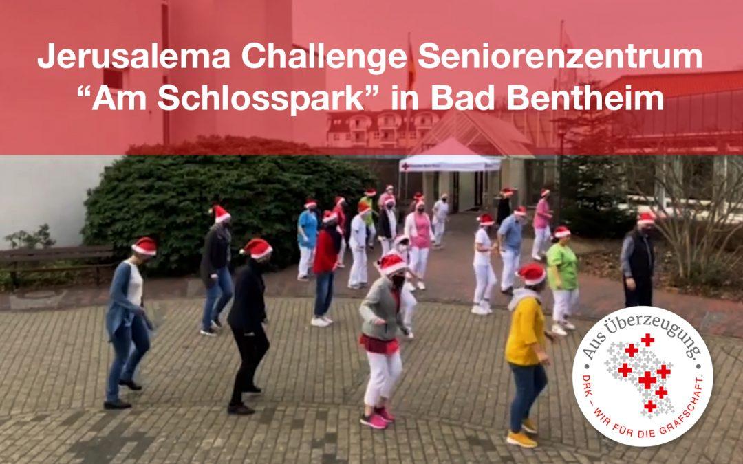 """Jerusalema Challenge – das Team vom Seniorenzentrum """"Am Schlosspark"""" in Bentheim tanzt!"""